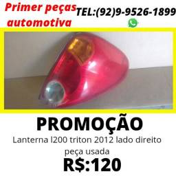 Título do anúncio: Lanterna de carro usada