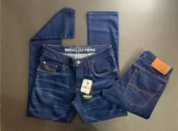 Calças jeans em diversas marcas