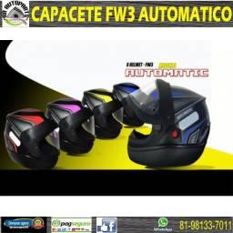 Capacete fw3 automatico