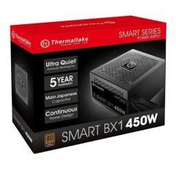 Fonte 450W Thermaltake smart bx1 80+bronze (Novo na caixa)