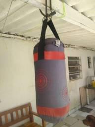Saco de boxe para treino
