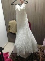 Vestido importado de noiva perfeito!