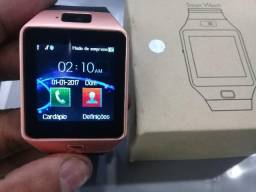 Relógio Inteligente - Bluetooth Dz09
