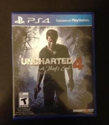 Uncharted 4 - A Thiefs End (PS4)