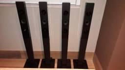 Caixa de Som Acústica Pedestal