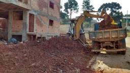 Limpeza de terreno, Terraplanagem, escavação, aterro, transportes, demolição