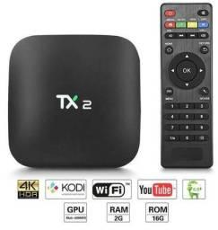 Aparelho Smart Tv Box Tx2 16gb 2gb Ram