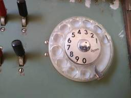 Central telefônica antiga