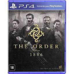 Jogo The order 1886 mídia física português ps4 playstation 4