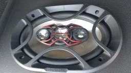 2 flats auto falante bravox com uma semana de uso