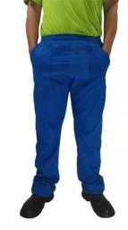 Calça De Brim Masculina Cinza Azul E Preta