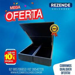 Cama Box Bau Queen Size 158x198 Confira