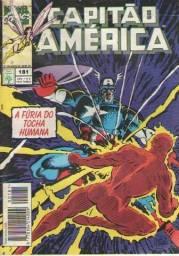 """Combo """"Capitão América"""" Ed. 181, 185 e Anual 01 (3 revistas em quadrinhos Marvel)"""