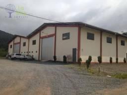 Excelente Galpão para Aluguel, Locação, 350m² Belchior Baixo  - Gaspar SC