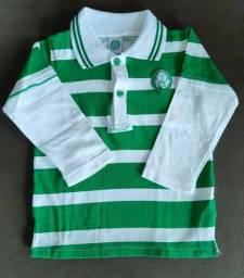 Camisa pólo do Palmeiras - Oficial - Manga Longa - 2 anos 848d5af3b5799