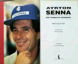 """Livro """"Ayrton Senna Um Tributo Pessoal"""""""