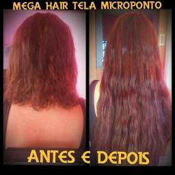 Mega hair e tecelagem em caruaru