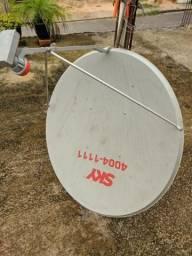 Antena sky nunca usada