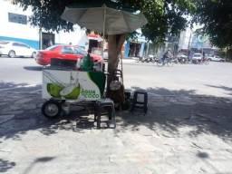 Carrinho para água de coco