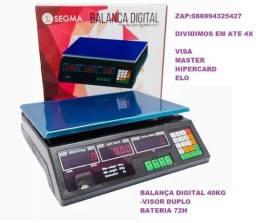 Balanca Eletrônica Digital 40kg Alta Precisão