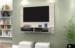 Painel Atenas c/ Base, Produzido em MDF e MDP, Apropriado Para Tv's de Até 50P - Notável
