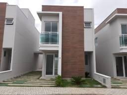 Eusébio - Casa Duplex 95,90m² com 3 suítes e 2 vagas