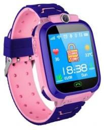 Relógio Pulseira Smartwatch Infantil GPS Ligação Câmera Som Novo na Caixa