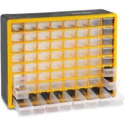 Organizador Plástico C/ 64 Compartimentos Opv310 Vonder (Novo)