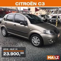 Citroen C3 GLX 1.4 2012 Flex