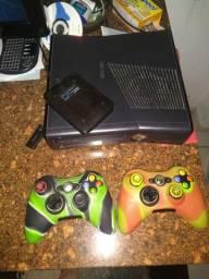 Xbox slim 360 completo destravado comprar usado  Cariacica