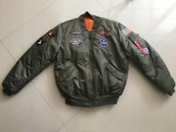 Jaqueta piloto USA Force comprar usado  Sorocaba