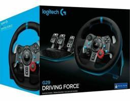 Volante Logitech Driving Force G29 Para PS4 / PS3 / PC<br><br>