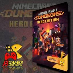 MINECRAFT DUNGEONS HERD EDITION ( Xbox One mídia digital)
