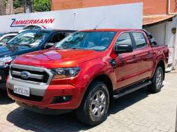 Ford Ranger xls cd 4x4 automática diesel 2018 único dono , garantia de fábrica