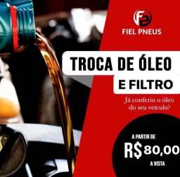 PROMOÇÃO TROCA DE ÓLEO E FILTRO grátis