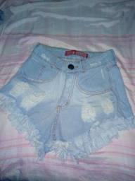 Short jeans claro