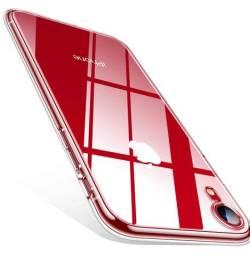 Capa iPhone XR silicone transparente