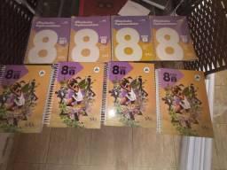 Livros do SAS 8 ano apostila colégio militar 1 (ler descrição)