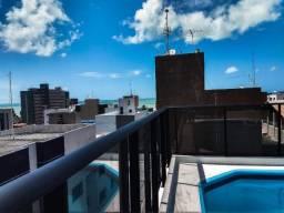 Apartamento na praia do Cabo Branco mobiliado a 200 m da praia