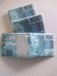 CARTEIRA MODELO NOTA DE R$100,00
