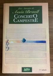 Livro Concerto Campestre