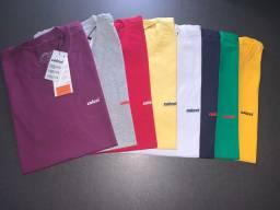 Camisetas gola Polo e Gola O