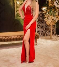Vestido para festa vermelho