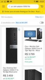 Título do anúncio:  Pc game Dell