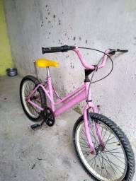 Título do anúncio: Bicicleta rosa