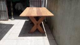 Mesa madeira maciça 1,80 x 94