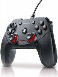 Controle Dreamgear com fio para PS3 Shadow - Preto