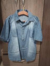 camisas infanto juvenil(kit com 3camisas)