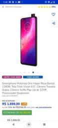 Motorola One Hyper  cor rosa