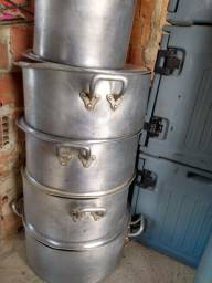 Panelas industriais de 38,45,55 e 65 litros cozinha industrial